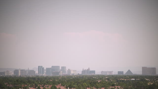 static sequence showing wide shots of las vegas, nevada, usa. - casino stock videos & royalty-free footage