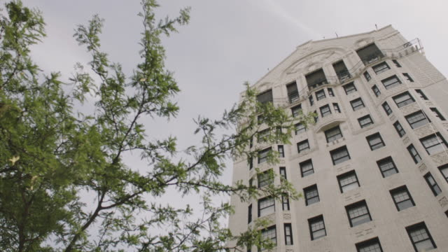 static shot of the hotel theresa in harlem - facade stock videos & royalty-free footage