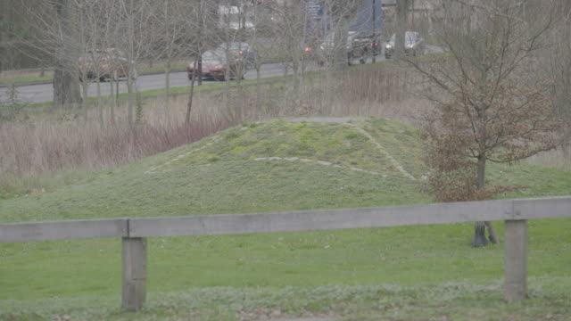 static shot of the prittlewell royal anglo-saxon burial site - circa 6th century stock videos & royalty-free footage