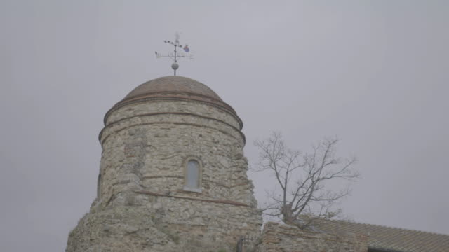 static shot of the tower of the colchester castle - circa 12th century stock videos & royalty-free footage