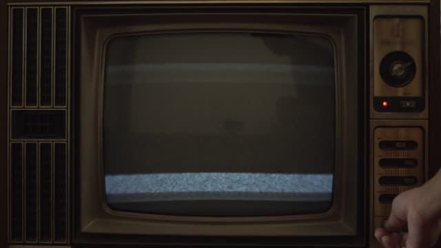 static tv - retro style stock videos & royalty-free footage