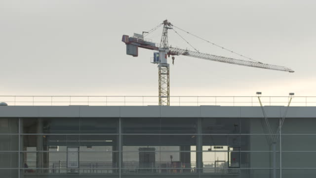 Static view of a crane shot from the Bibliothèque nationale de France