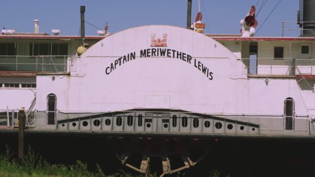 stockvideo's en b-roll-footage met static view of ship captain meriwether lewis. - meriwether lewis