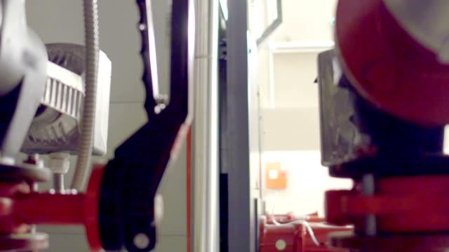 stationary engeneers at work - boiler stock videos & royalty-free footage