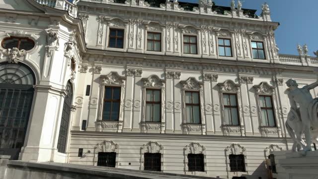 ベルヴェデレ・ウィーン像 - ベルヴェデーレ宮殿点の映像素材/bロール