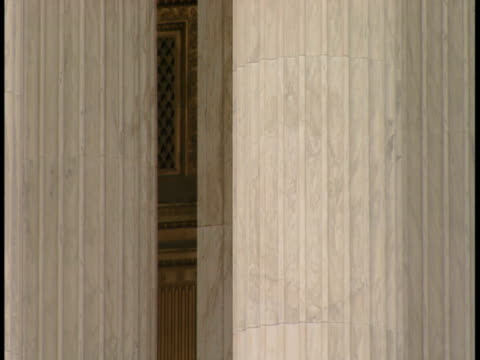 cu pan statue in front of supreme  supreme court building / washington, dc - male likeness stock videos & royalty-free footage