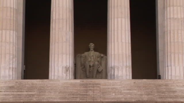 MS, PAN, Statue of Abraham Lincoln, Lincoln Memorial, Washington DC, Washington, USA