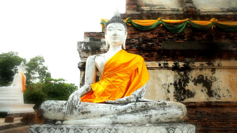 statue of bouddha - male likeness stock videos & royalty-free footage