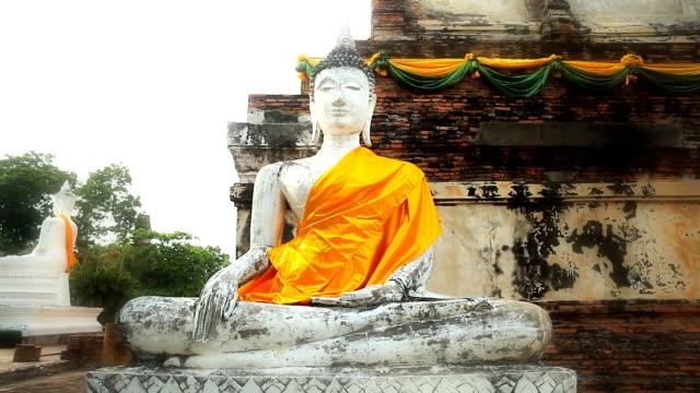 vídeos de stock, filmes e b-roll de estátua de bouddha - representação humana