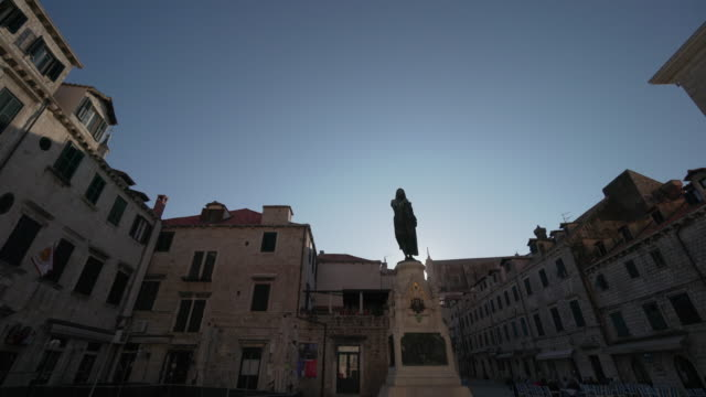 Statue of Ivan Gundulic - Dubrovnik - Croatia