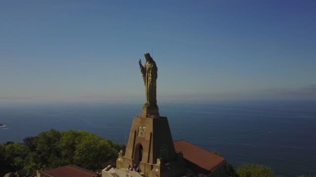 Statue of Jesus - Monte Urgull