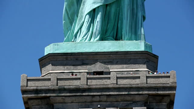 Statue of Liberty in New York City,HD 1080p