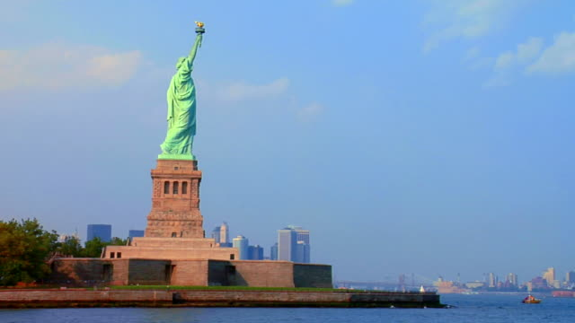 statue of liberty. nyc - statue of liberty stock videos and b-roll footage