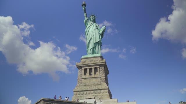 statue of liberty - 自由の女神点の映像素材/bロール
