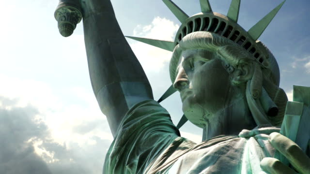 statue of liberty - statue of liberty stock videos and b-roll footage