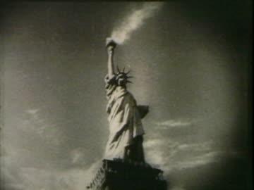 statue of liberty - statue of liberty new york city 個影片檔及 b 捲影像