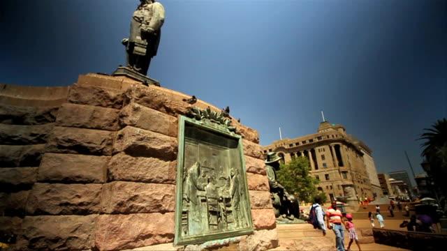 LS Statue of Paul Kruger, Church Square / Pretoria/ South Africa