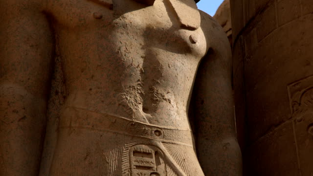 Statue of Ramesses II from Luxor Temple, Luxor Egypt