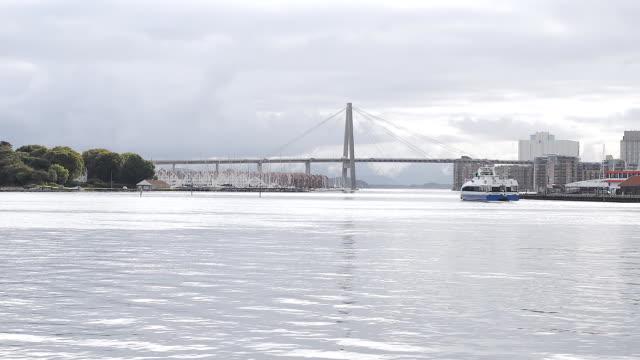 stavanger bridge, norway - stavanger stock videos & royalty-free footage