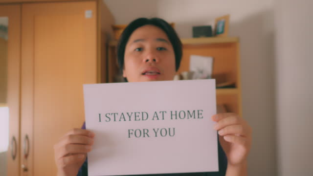 stay home save lives - long distance relationship stock videos & royalty-free footage