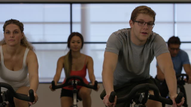 Staying Fit in an Indoor Cycling Class