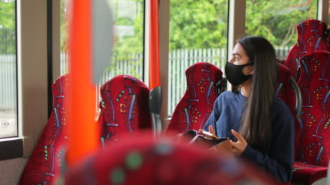 staying safe on public transport - public transport stock videos & royalty-free footage