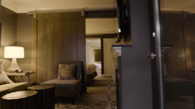 Steadicam shot of an elegant apartment