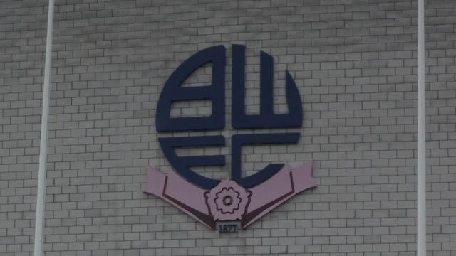 a steady drizzle sets in over the university of bolton stadium as talks continue to rescue bolton wanderers after the efl granted the club a 14day... - smooth stock videos & royalty-free footage