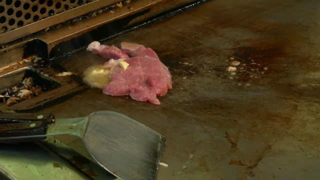 Steak barbecue grill