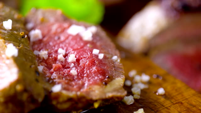 steak - salt shaker stock videos and b-roll footage