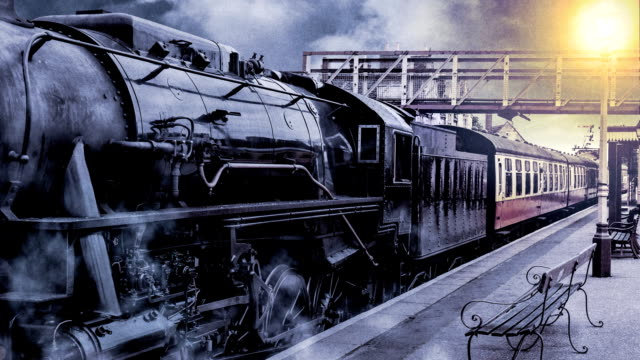 steam age - steam train stock videos & royalty-free footage