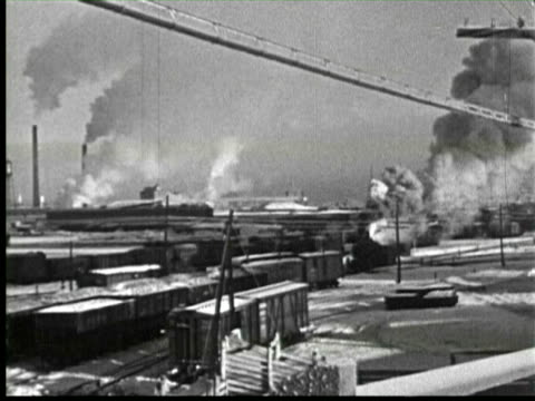 b/w steam engine and tracks in snow, ottawa, canada / audio - ottawa stock videos & royalty-free footage