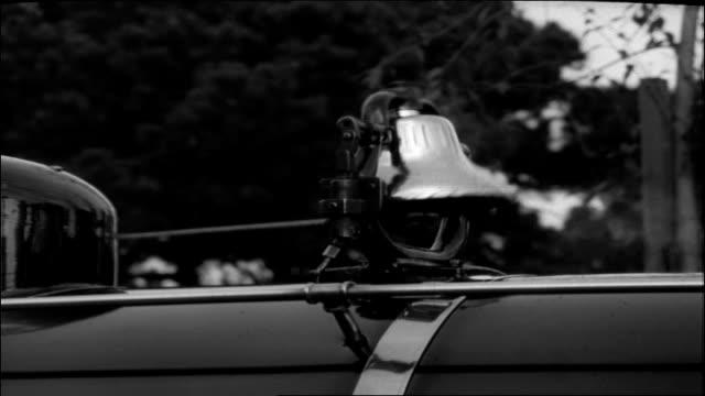 vidéos et rushes de steam engine bell & whistles, 1951 - locomotive