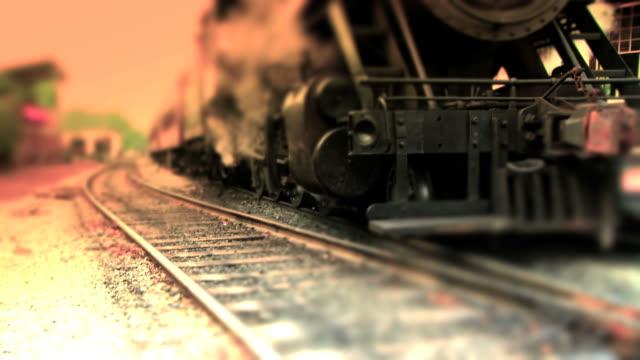 Steam Engine Train Waits at Station #2