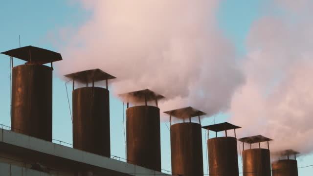 ms 蒸気加熱ステーションから - ボング点の映像素材/bロール