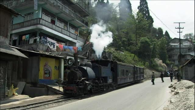 steam locomotive, darjeeling himalayan railway - moving after stock videos & royalty-free footage