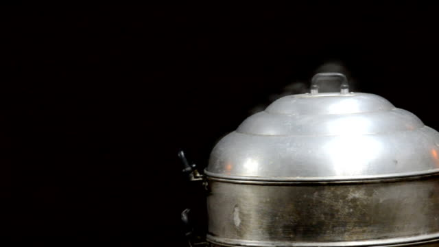steam over cooking pot,dolly shot - pan greek god stock videos & royalty-free footage