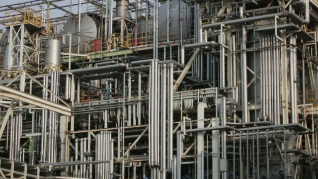 japan: gas emissions, chemical plant - refinery stock videos & royalty-free footage