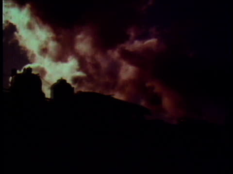 1978 la steam spouting from train / united states - 1978 stock videos & royalty-free footage
