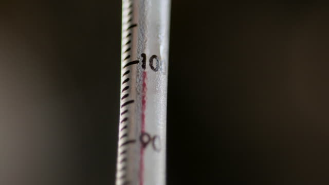 steam surrounds a thermometer reading '100' - rack focus stock videos & royalty-free footage