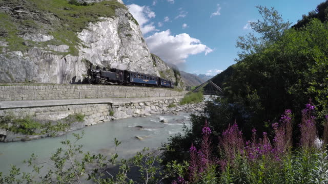 dfb steam train - locomotive stock videos & royalty-free footage