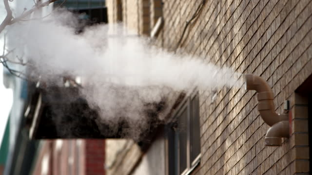 Steam vent in Montreal