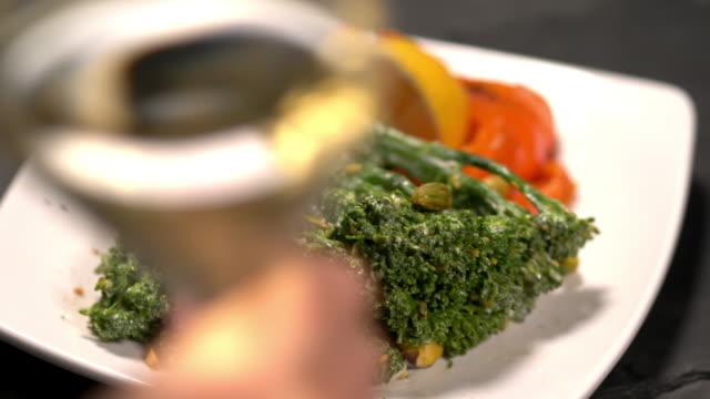Steamed Broccoli Broccolini salad