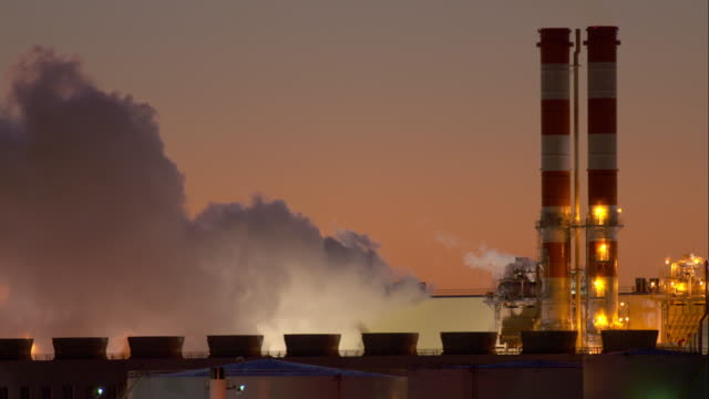 Steaming Factory in Newark Bay
