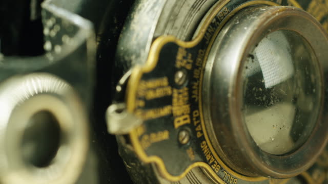 steampunk macro 13 - camera photographic equipment stock videos & royalty-free footage