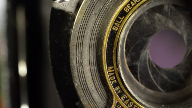 steampunk macro 5 - camera photographic equipment stock videos and b-roll footage