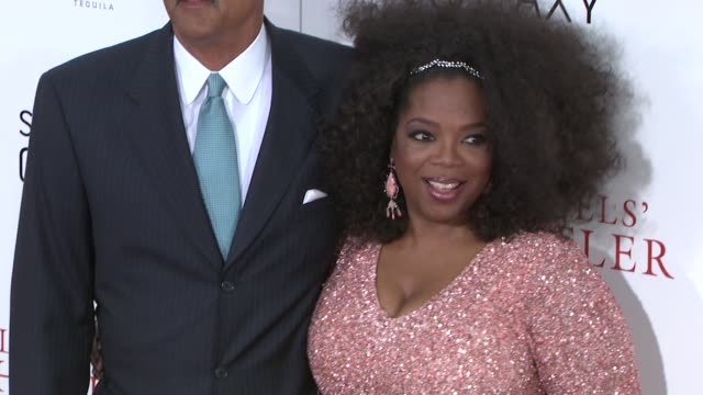 stedman graham and oprah winfrey attend lee daniels' 'the butler' new york premiere at ziegfeld theatre on august 05 2013 in new york new york - oprah winfrey stock videos & royalty-free footage