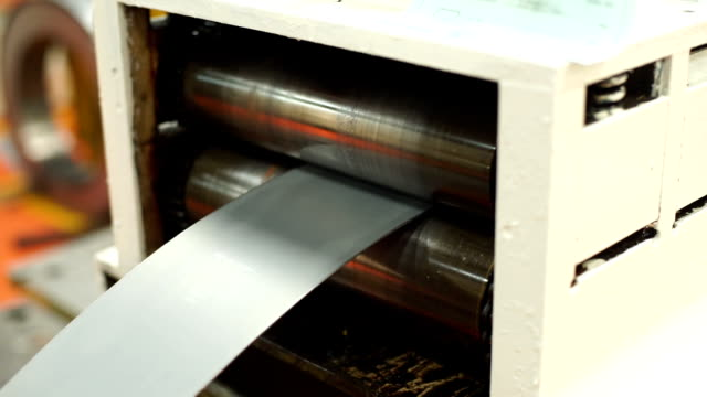 steel bending machine - curled up stock videos and b-roll footage