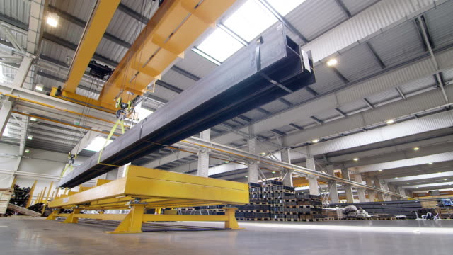 steel construction beams - girder stock videos & royalty-free footage