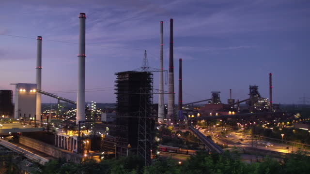 steel industry - ruhr stock videos & royalty-free footage
